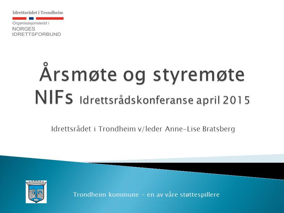 Årsmøte og styremøte NIFs Idrettsrådskonferanse april 2015