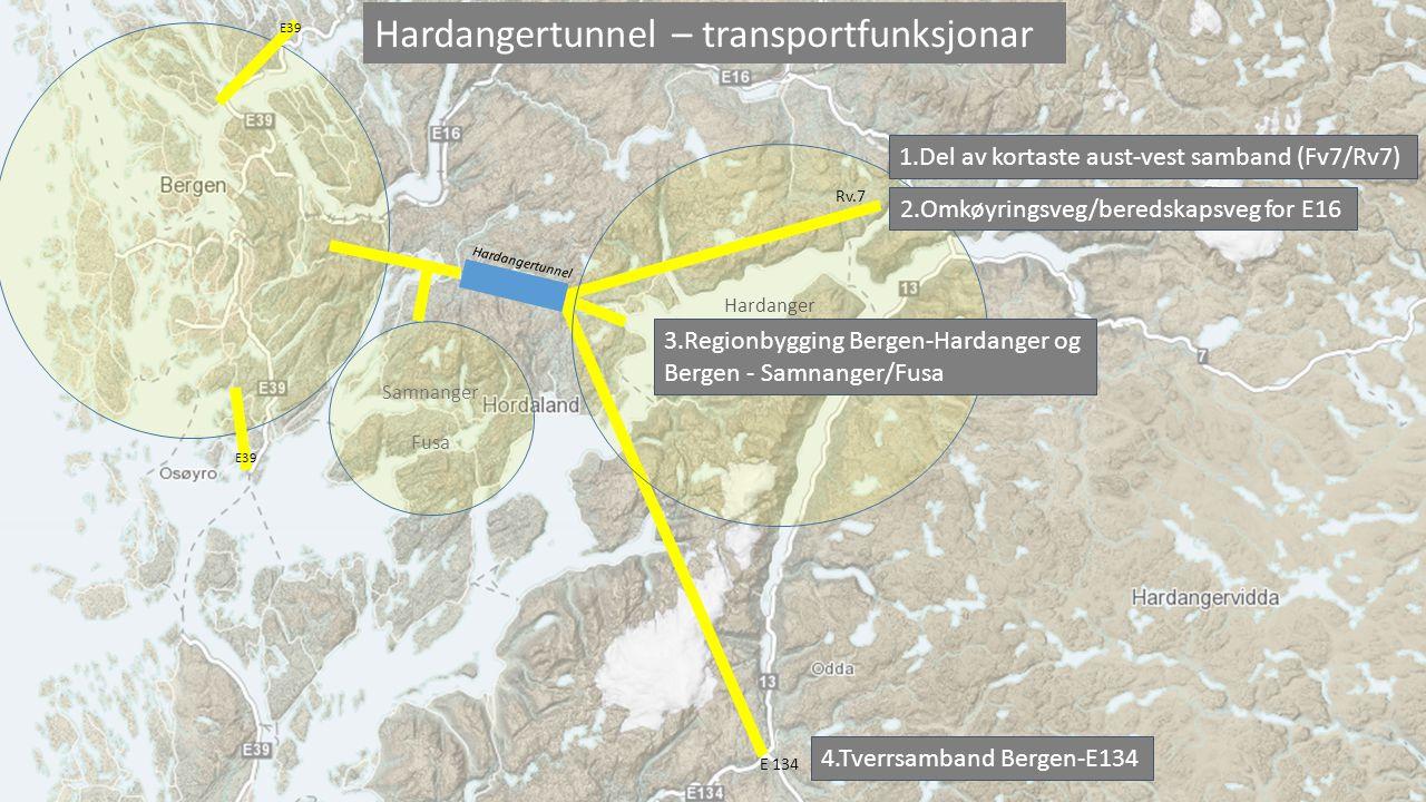 Hardangertunnel – transportfunksjonar