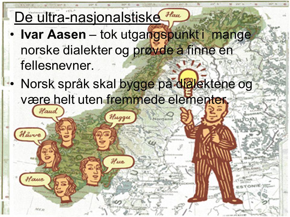 De ultra-nasjonalstiske