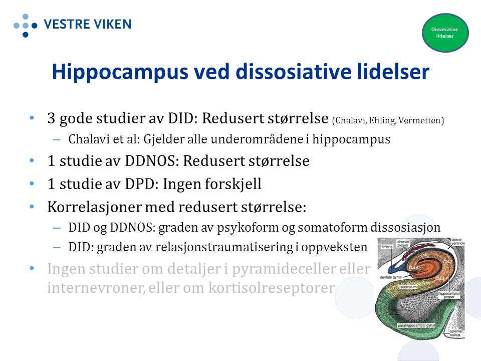Hippocampus ved dissosiative lidelser