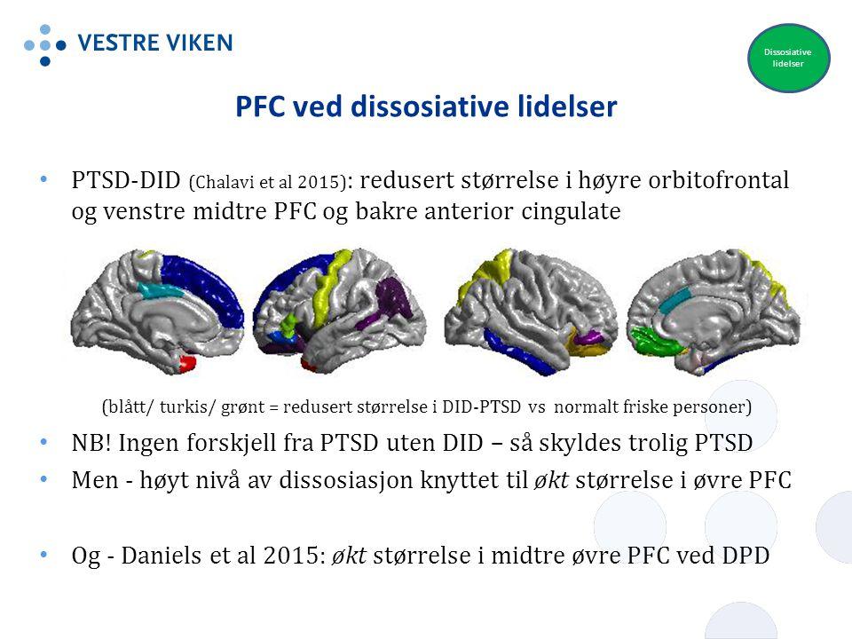 PFC ved dissosiative lidelser