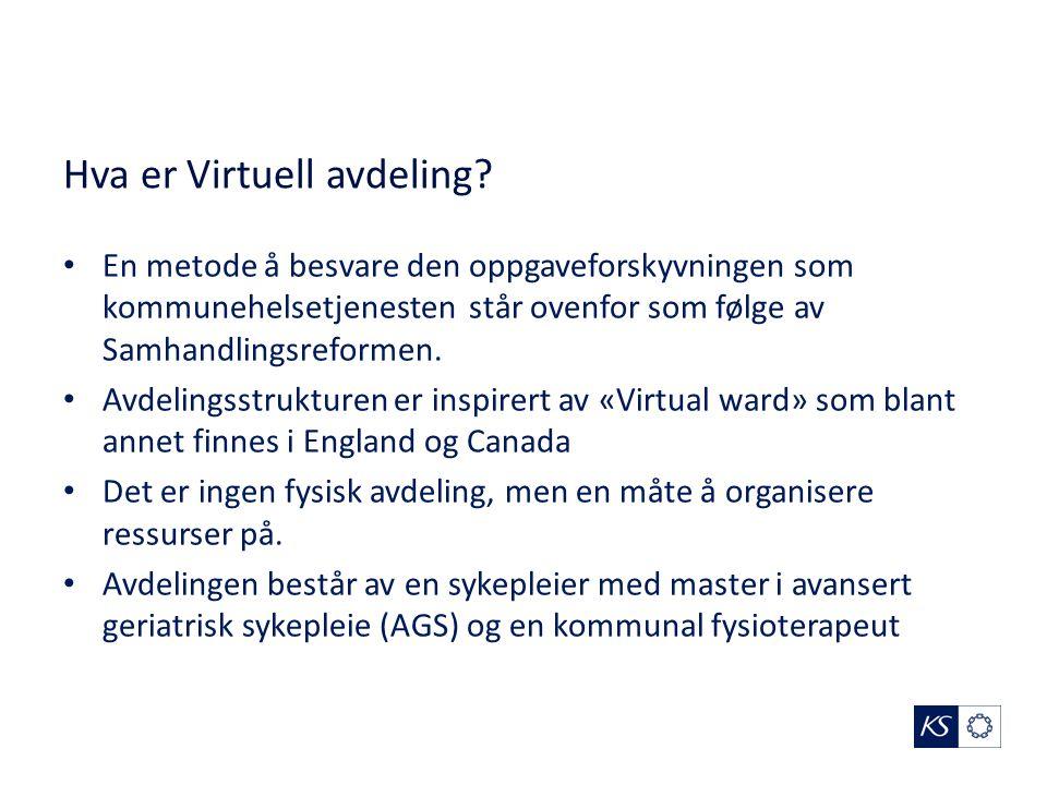 Hva er Virtuell avdeling