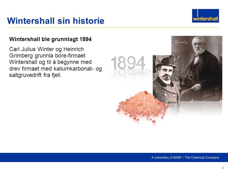 Wintershall sin historie