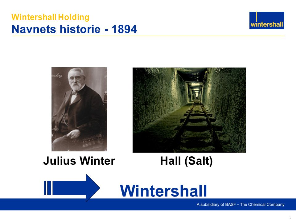 Wintershall Holding Navnets historie - 1894