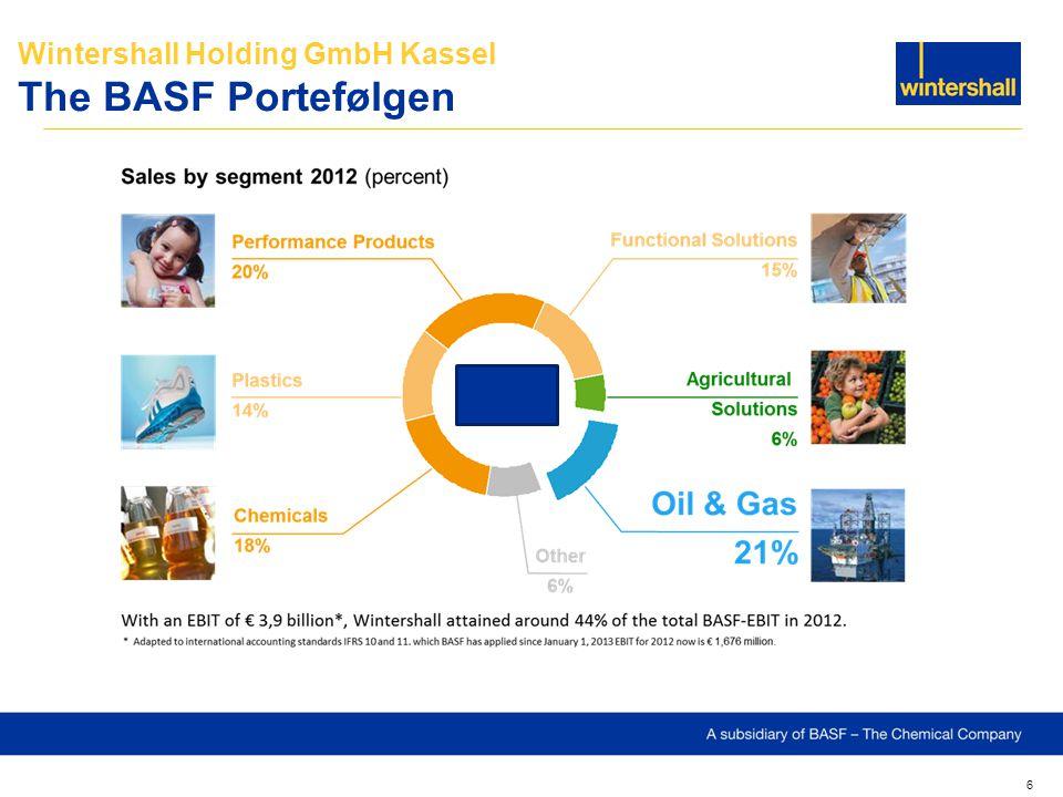 Wintershall Holding GmbH Kassel The BASF Portefølgen