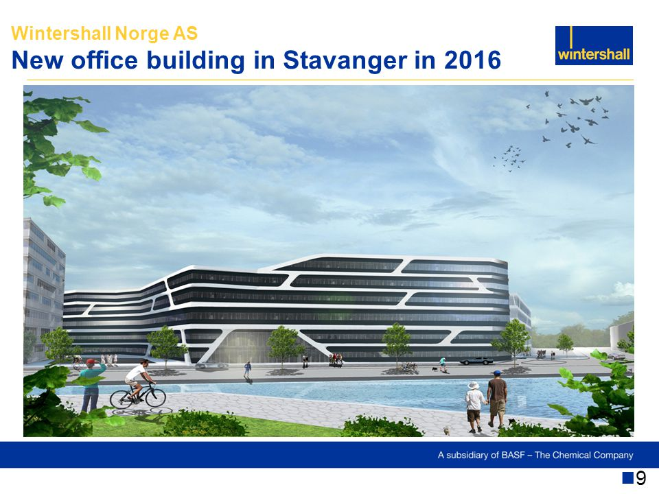 Wintershall Norge AS New office building in Stavanger in 2016