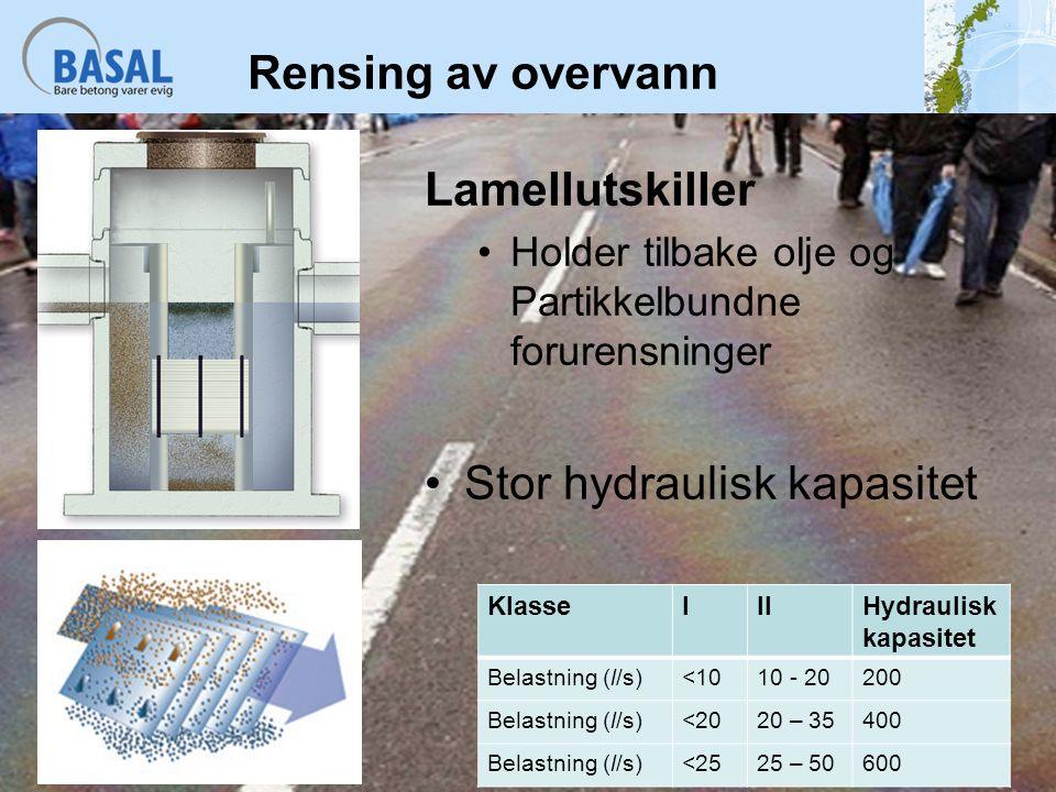 Stor hydraulisk kapasitet