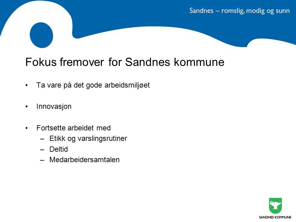 Fokus fremover for Sandnes kommune