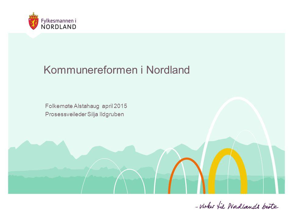 Kommunereformen i Nordland