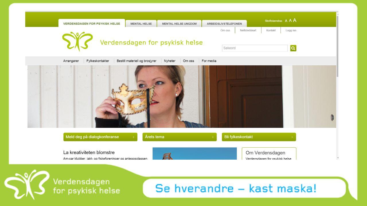 For å oppsummere: Følg med på www.verdensdagen.no og få inspirasjon og støtte til din ide. Søk midler.