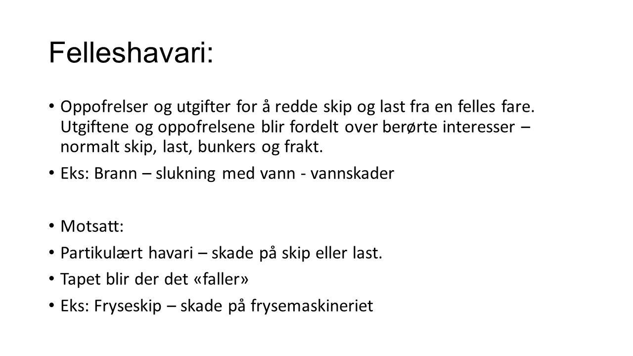 Felleshavari: