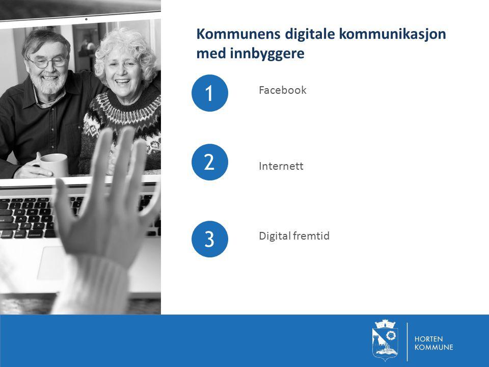 Kommunens digitale kommunikasjon med innbyggere