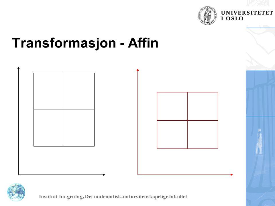 Transformasjon - Affin