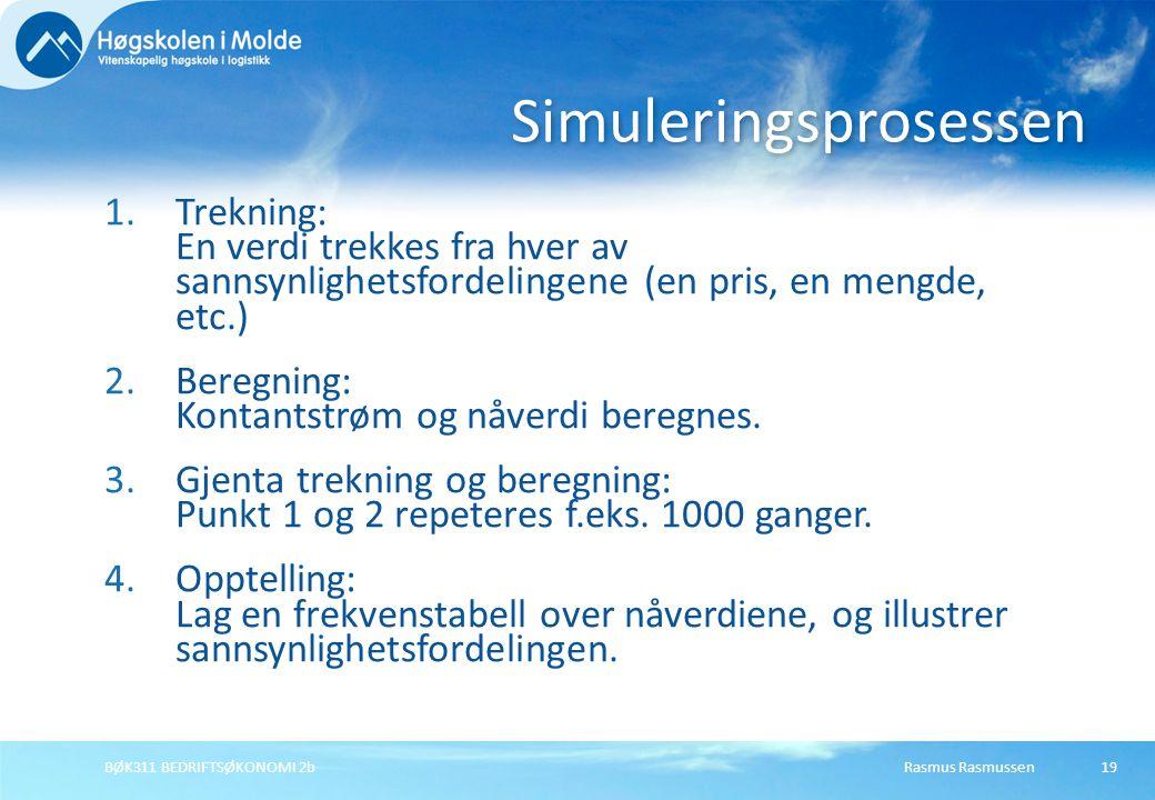 Simuleringsprosessen