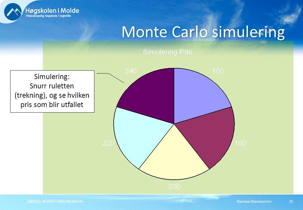 Monte Carlo simulering