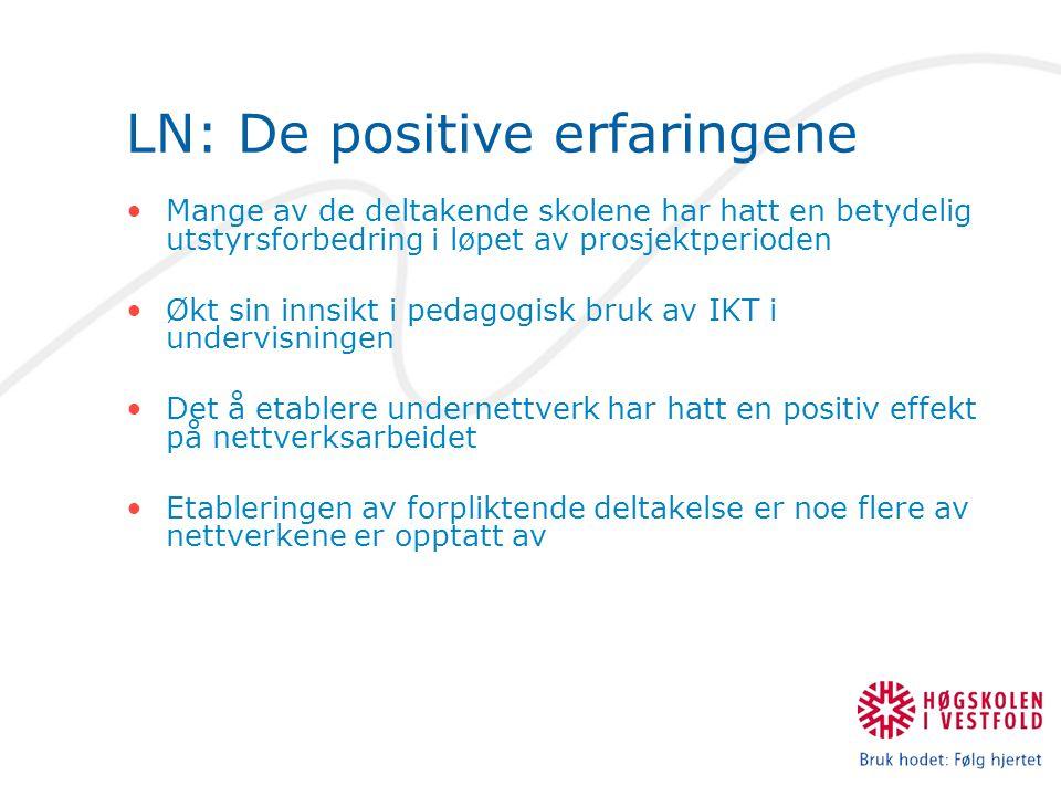 LN: De positive erfaringene
