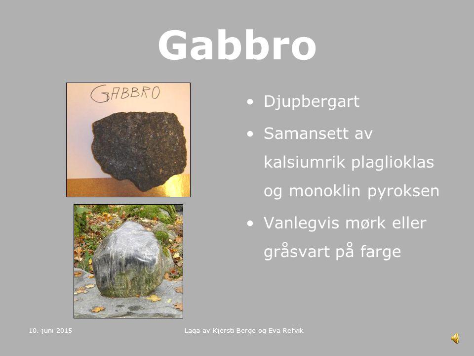 Laga av Kjersti Berge og Eva Refvik