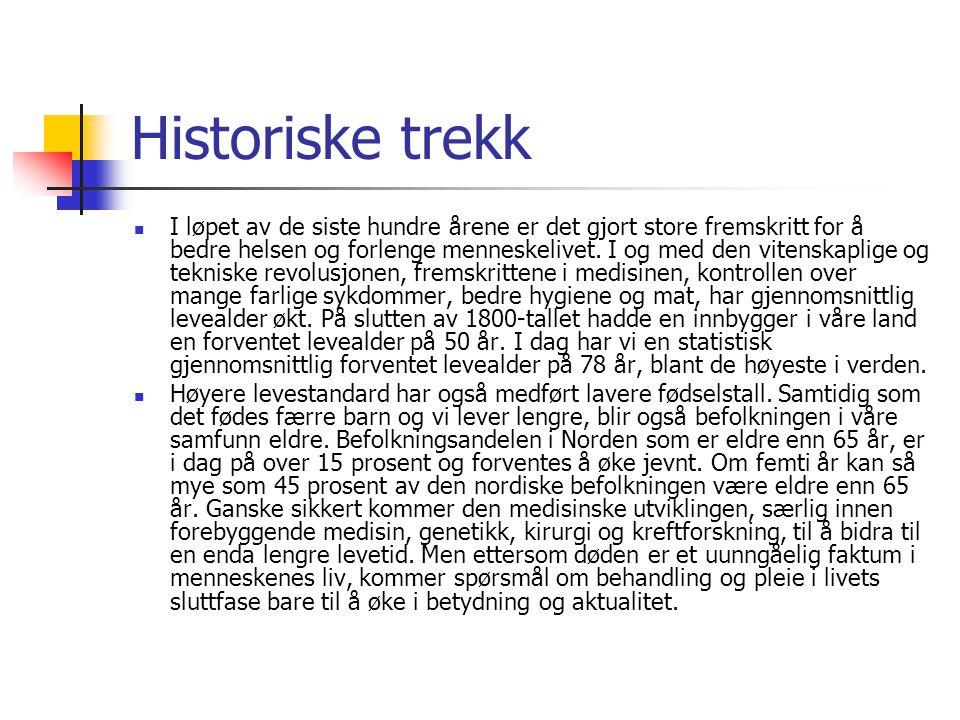Historiske trekk