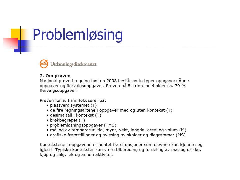 Problemløsing