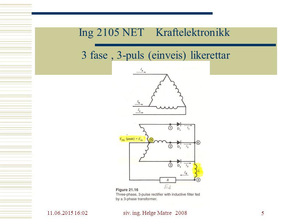 Ing 2105 NET Kraftelektronikk
