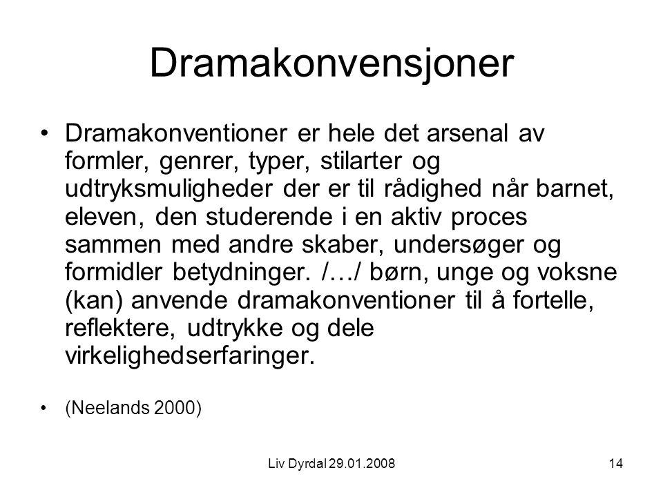 Dramakonvensjoner