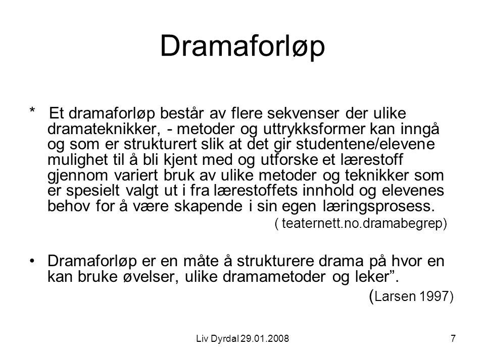 Dramaforløp
