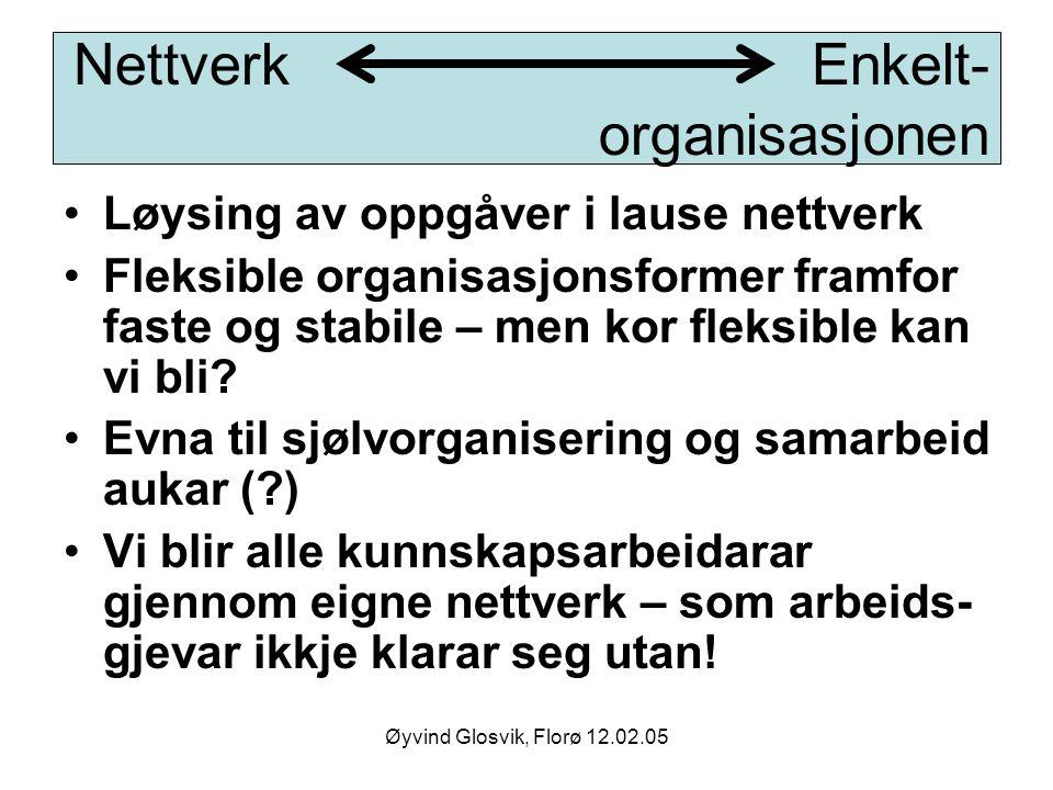 Nettverk Enkelt- organisasjonen
