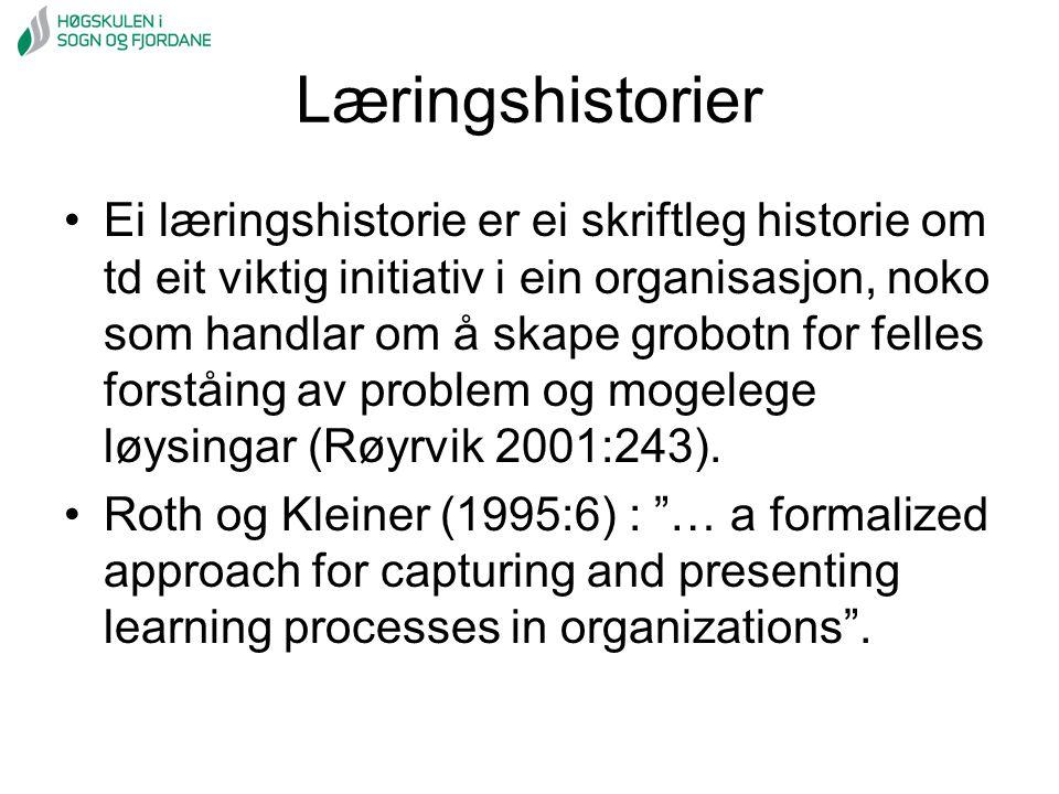 Læringshistorier