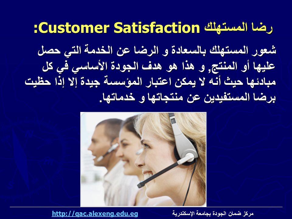 رضا المستهلك:Customer Satisfaction