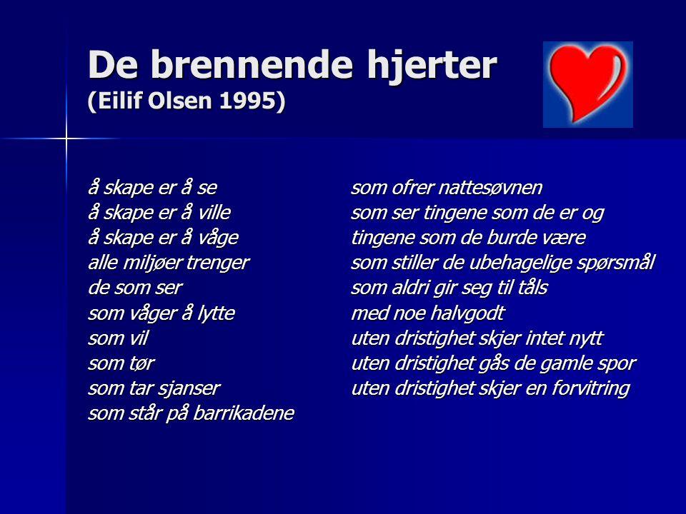 De brennende hjerter (Eilif Olsen 1995)