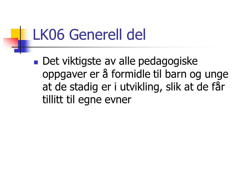 LK06 Generell del