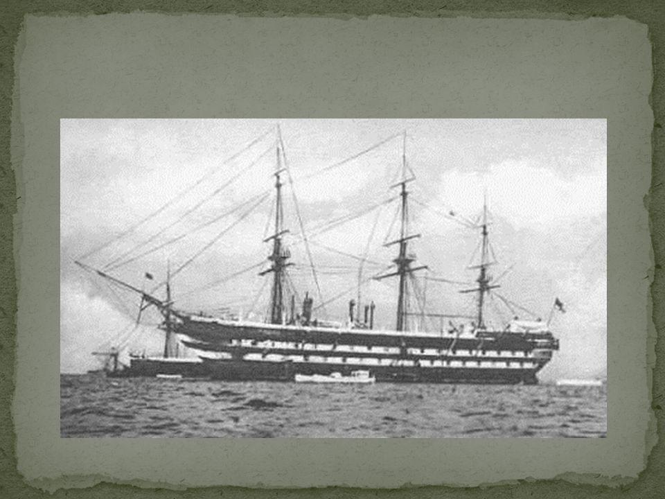 Etter de var gift ble Amalie med sin mann på båten hvor de seilte verden rundt.