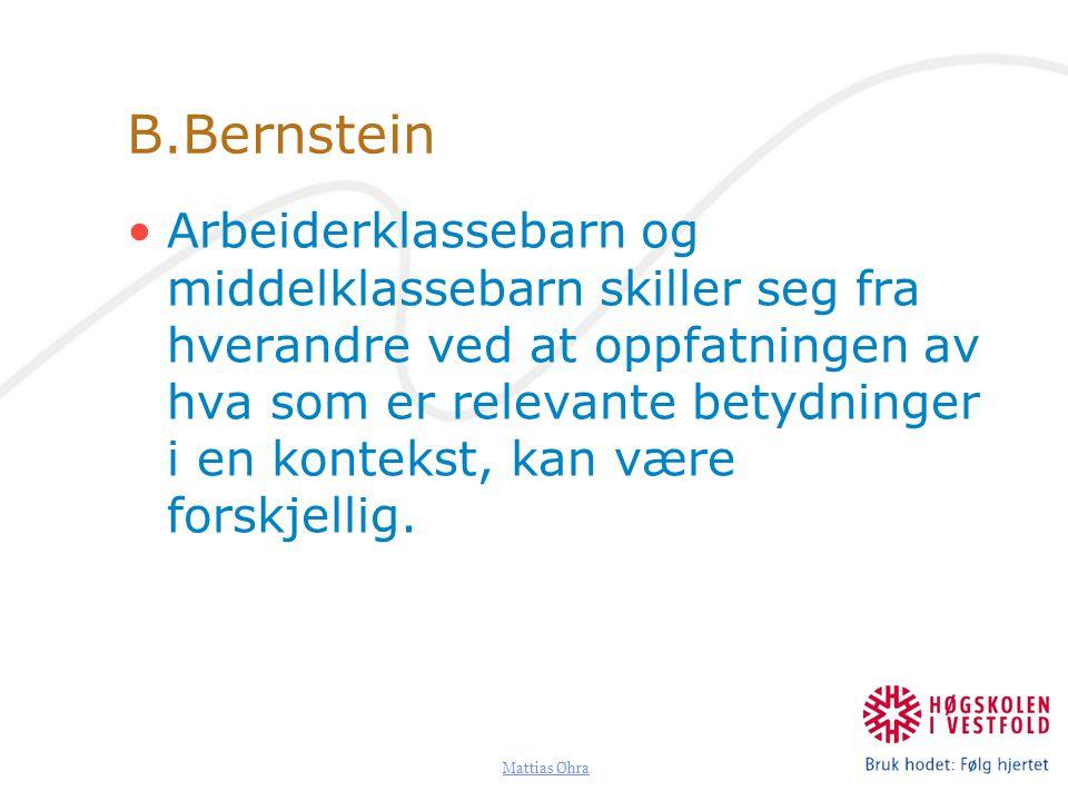 B.Bernstein
