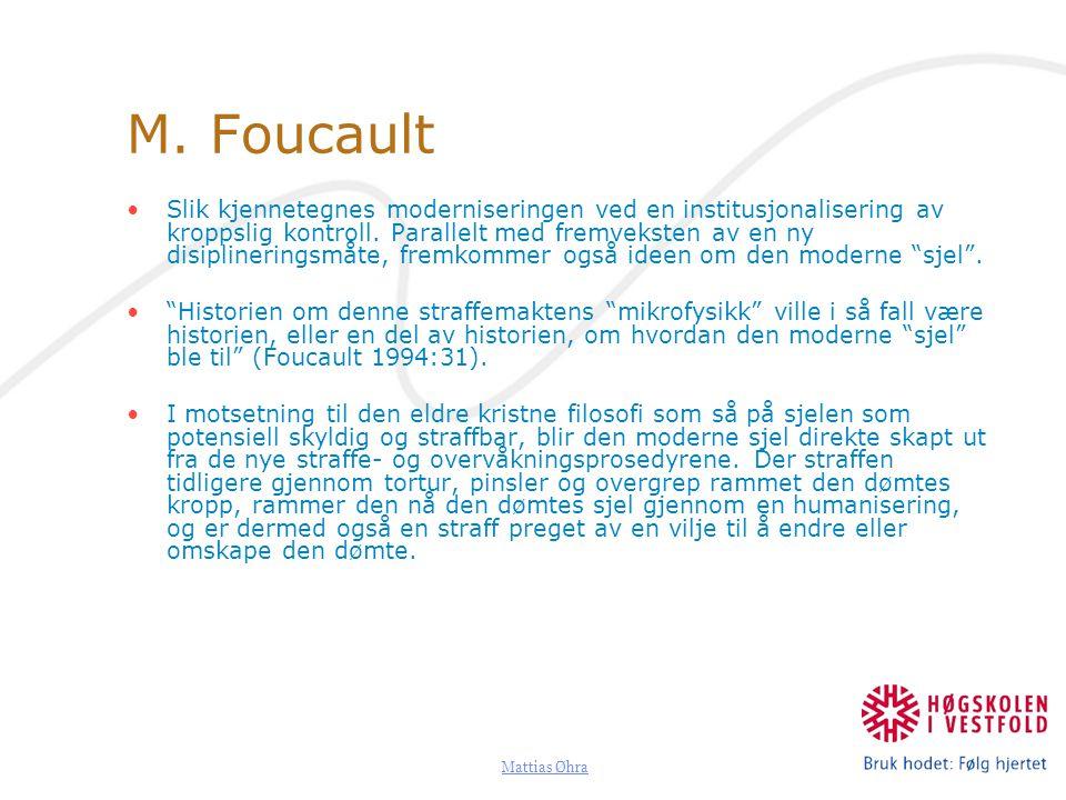 M. Foucault