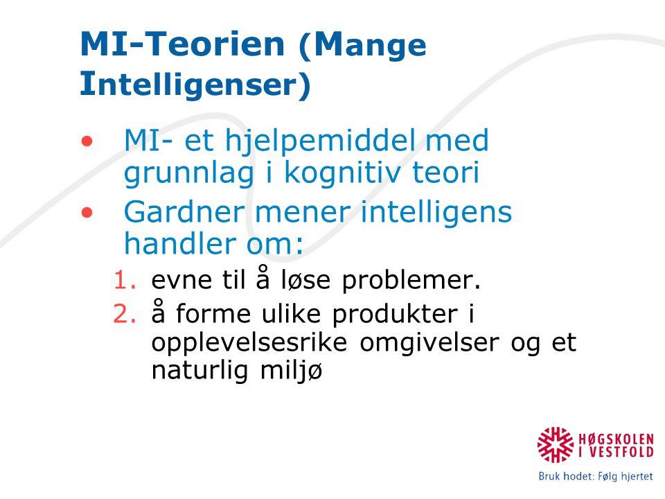 MI-Teorien (Mange Intelligenser)