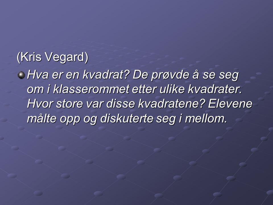(Kris Vegard)