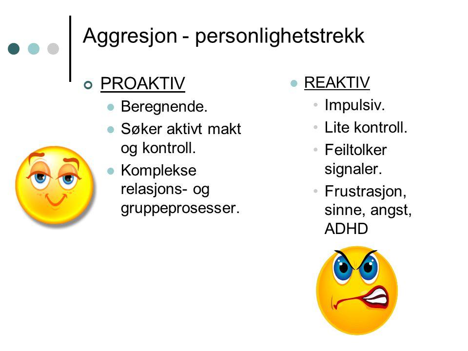 Aggresjon - personlighetstrekk