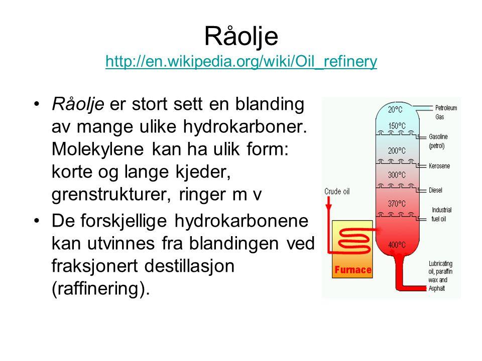 Råolje http://en.wikipedia.org/wiki/Oil_refinery