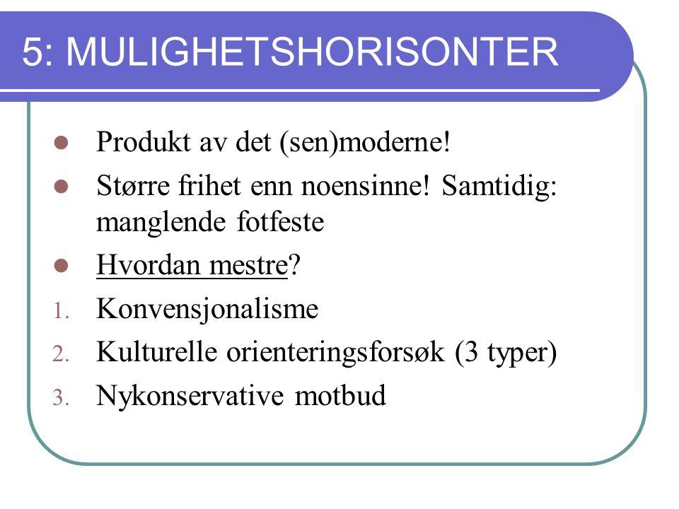 5: MULIGHETSHORISONTER