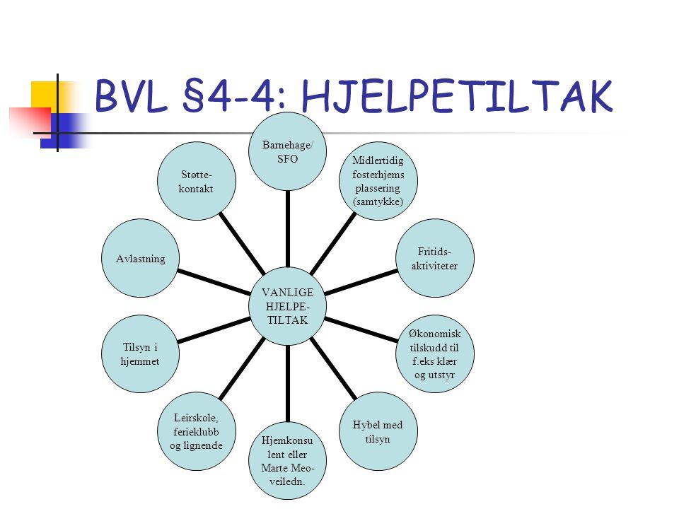 BVL §4-4: HJELPETILTAK
