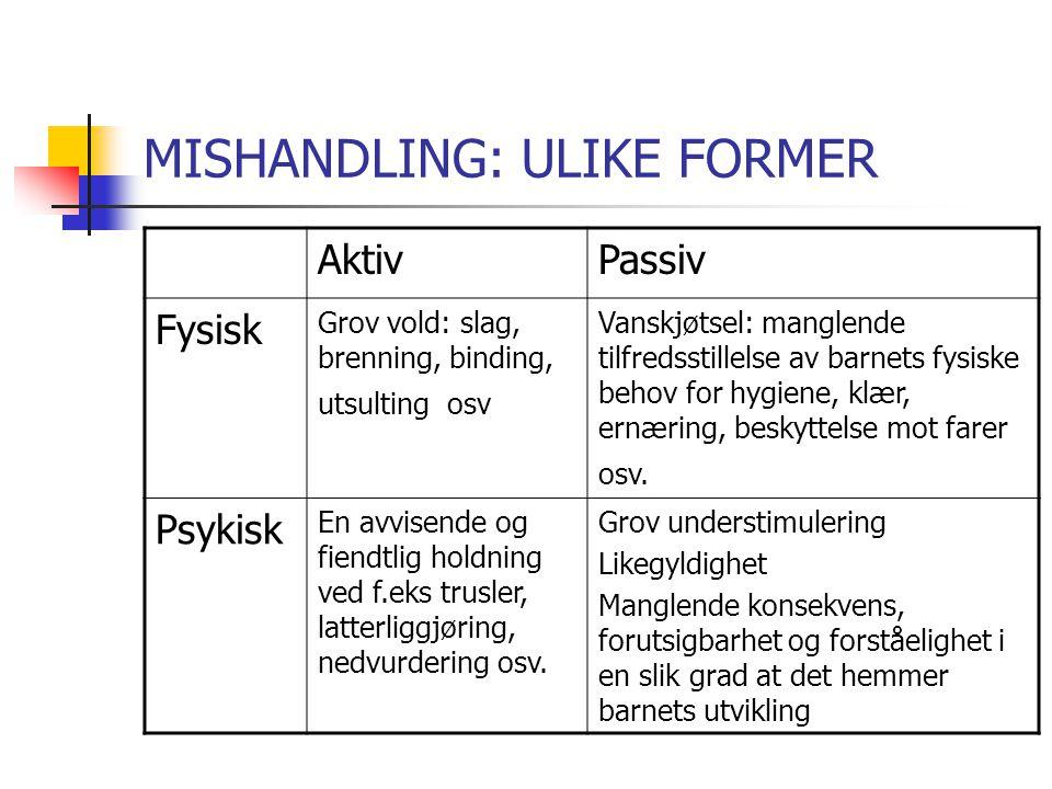 MISHANDLING: ULIKE FORMER