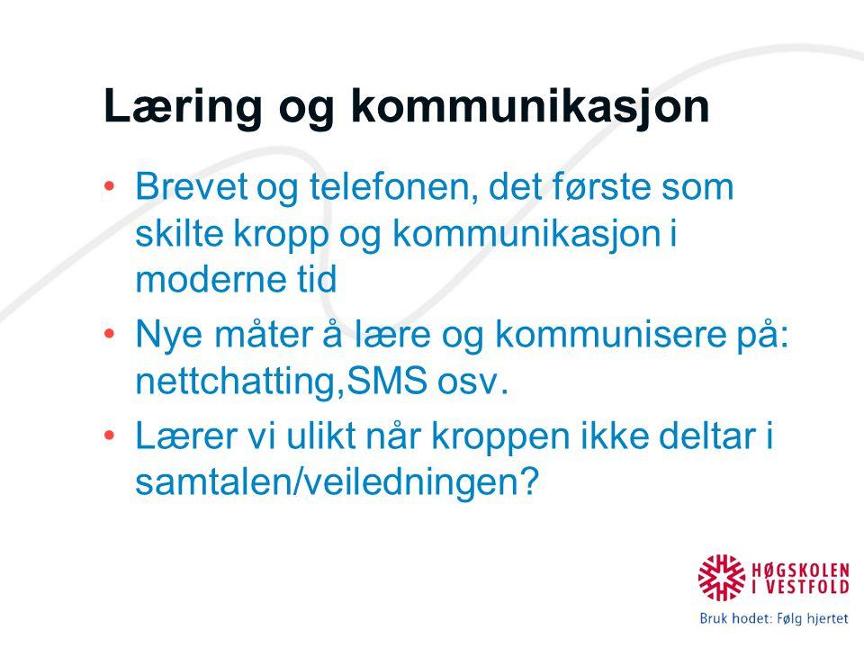 Læring og kommunikasjon