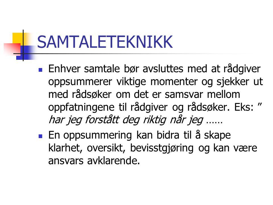 SAMTALETEKNIKK