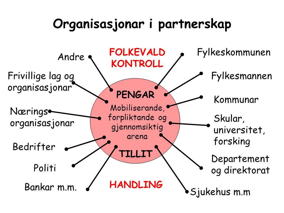 Organisasjonar i partnerskap