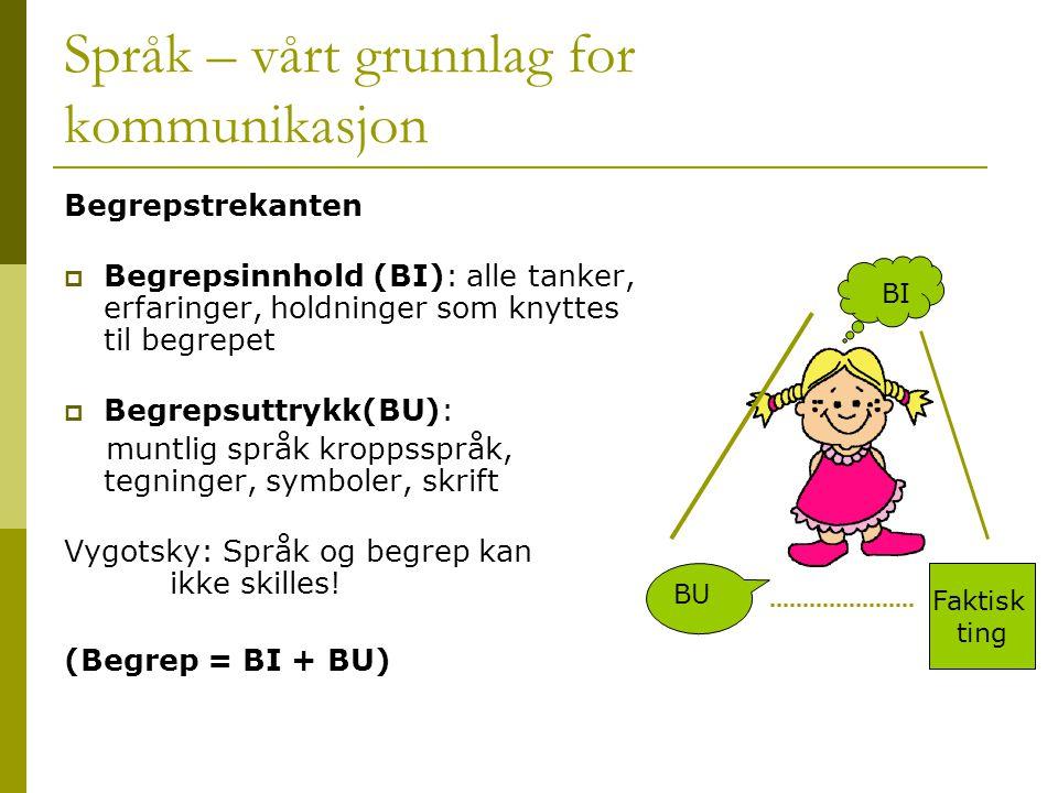 Språk – vårt grunnlag for kommunikasjon