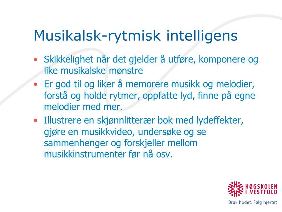 Musikalsk-rytmisk intelligens