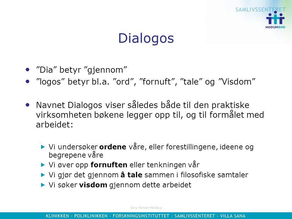 Dialogos Dia betyr gjennom