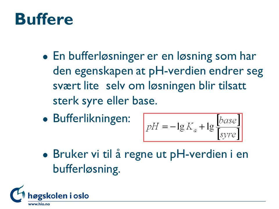 Buffere