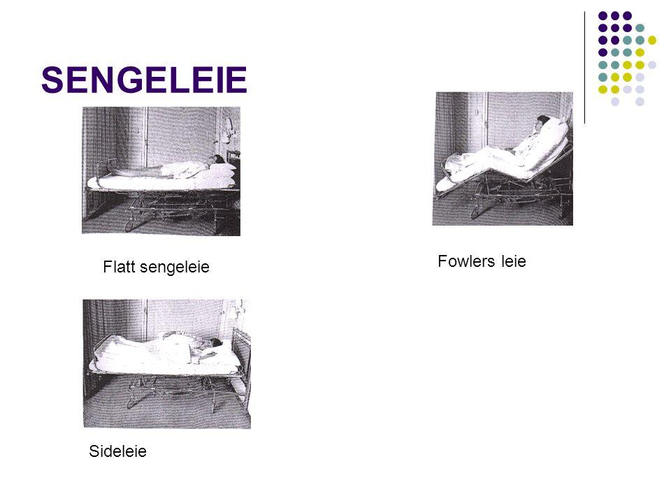 SENGELEIE Fowlers leie Flatt sengeleie Sideleie