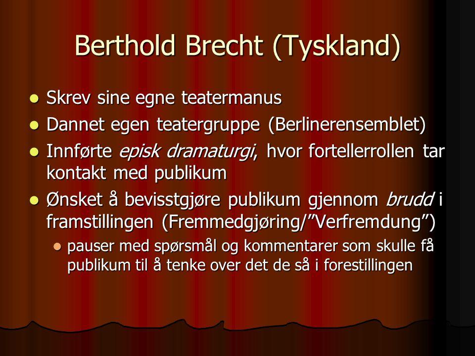 Berthold Brecht (Tyskland)